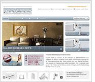 Internetshop Galerieschiene.net Bilderschienen und Galerieschienen ohne Versandkosten
