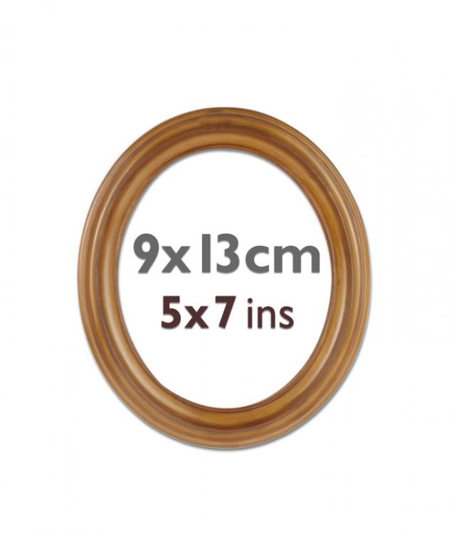 Ovalrahmen 9x13 Kunststoff oval-913-plastic | Bilderrahmen Shop 24 ...