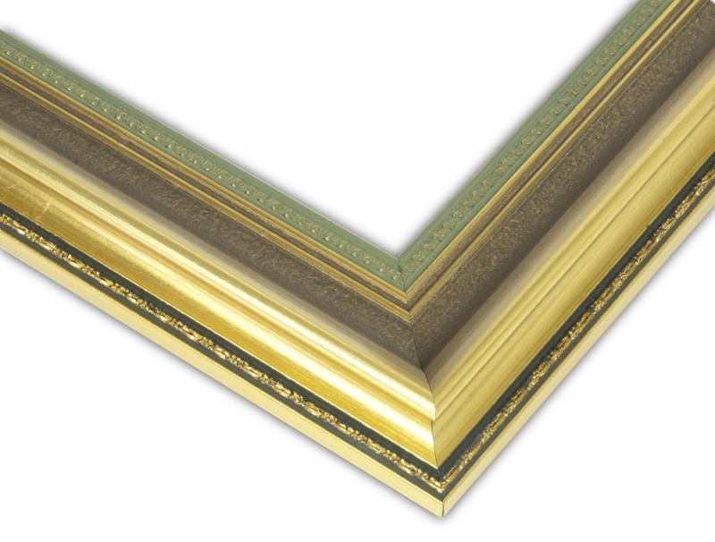 Bilderleiste 920 ORO gold verziert